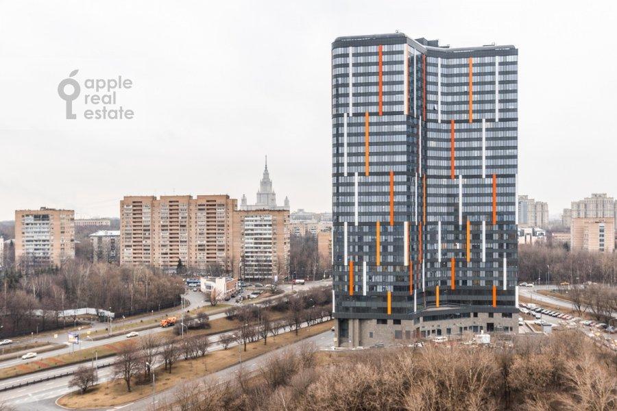 Вид из окна в 3-комнатной квартире по адресу Минская ул. 1г