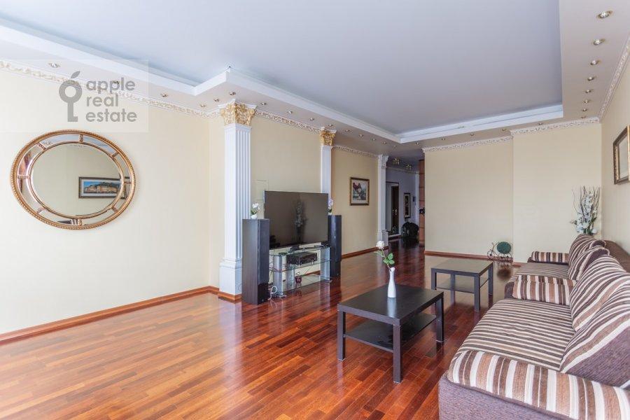 Гостиная в 3-комнатной квартире по адресу Минская ул. 1г