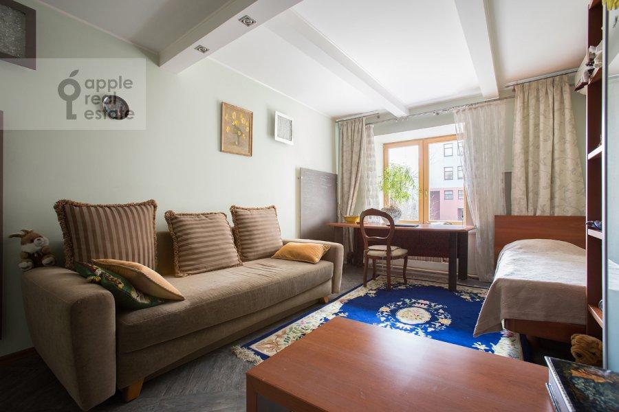 Спальня в 3-комнатной квартире по адресу Цветной бульвар 22с4