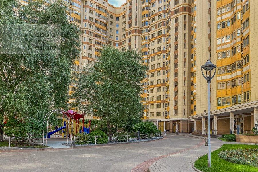 Photo of the house of the 4-room apartment at Lomonosovskiy prospekt 25k1
