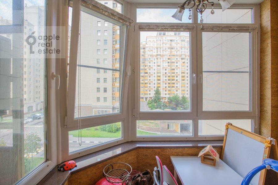 Balcony / Terrace / Loggia of the 4-room apartment at Lomonosovskiy prospekt 25k1