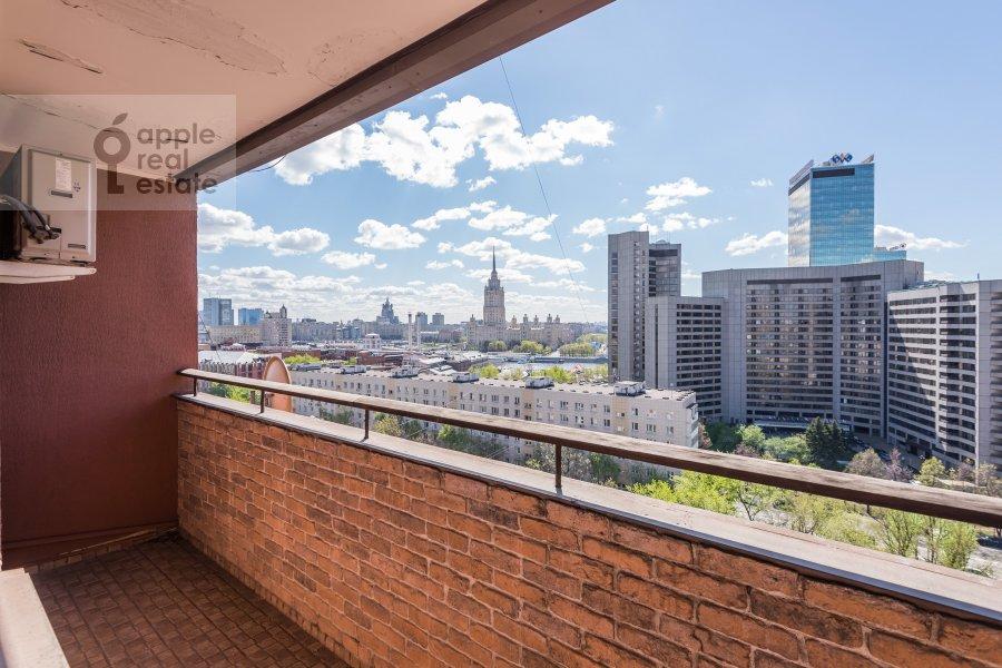 Balcony / Terrace / Loggia of the 1-room apartment at Studenetskiy per. 3