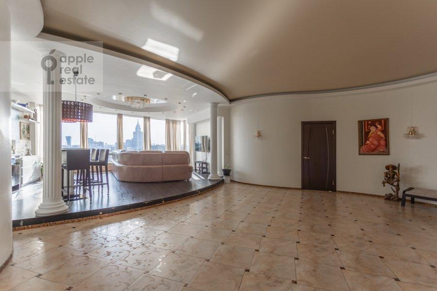 Гостиная в 3-комнатной квартире по адресу Кочновский проезд 4к2