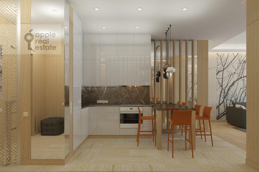 3-комнатная квартира по адресу 2-ая Брестская ул. 6