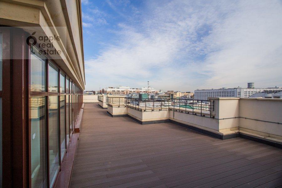 Balcony / Terrace / Loggia of the studio apartment at Bol'shoy Afanas'evskiy pereulok 28