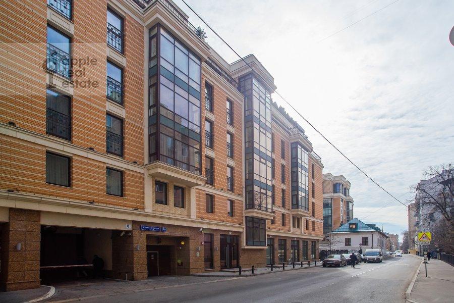 Photo of the house of the studio apartment at Bol'shoy Afanas'evskiy pereulok 28