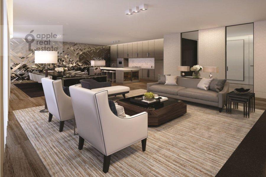 3-room apartment at Kursovoy per. 10/1