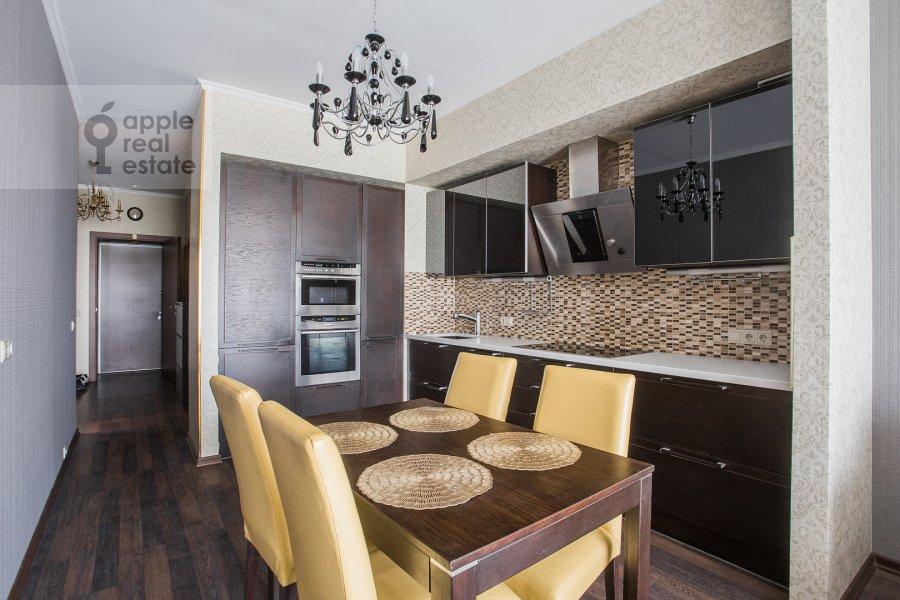 Гостиная в 2-комнатной квартире по адресу Нежинская улица 1к3