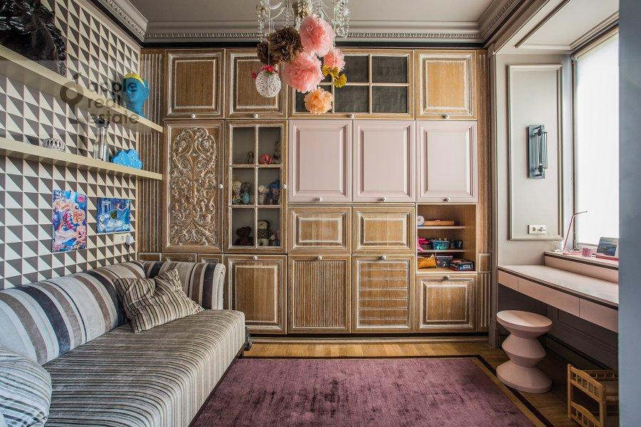 Детская комната / Кабинет в 4-комнатной квартире по адресу Новопесчаная ул. 20/10к1