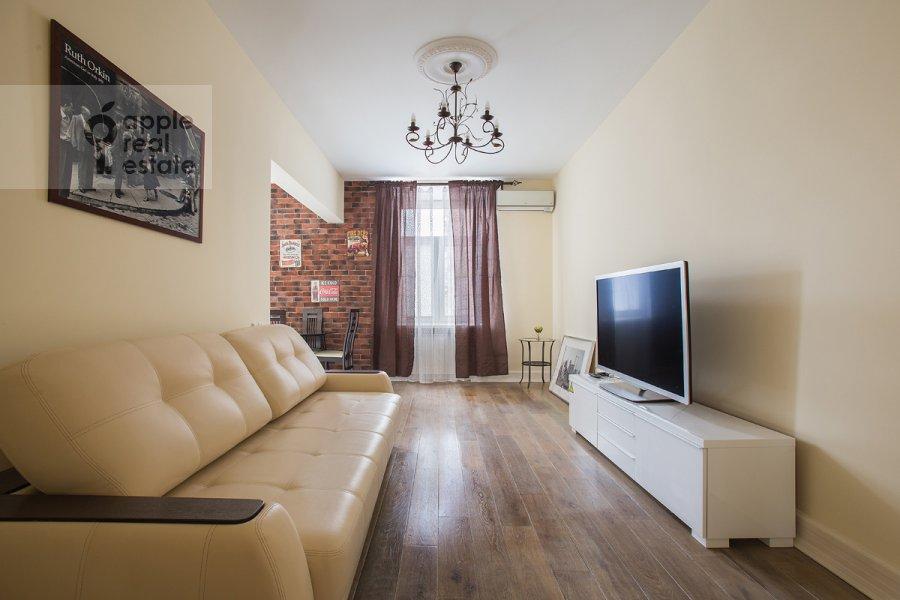 Гостиная в 2-комнатной квартире по адресу Кутузовский пр-т. 4к2