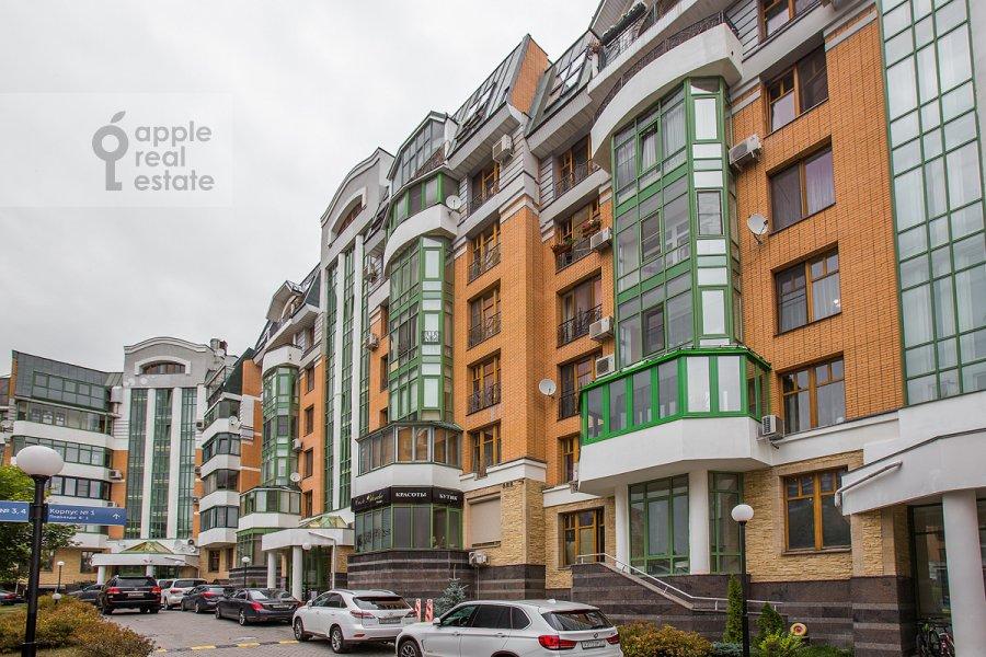 Photo of the house of the 2-room apartment at Krylatskaya ulitsa 45k1