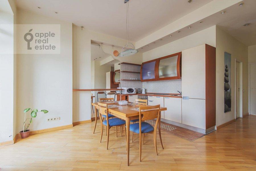 Kitchen of the 2-room apartment at Tverskaya ul. 6