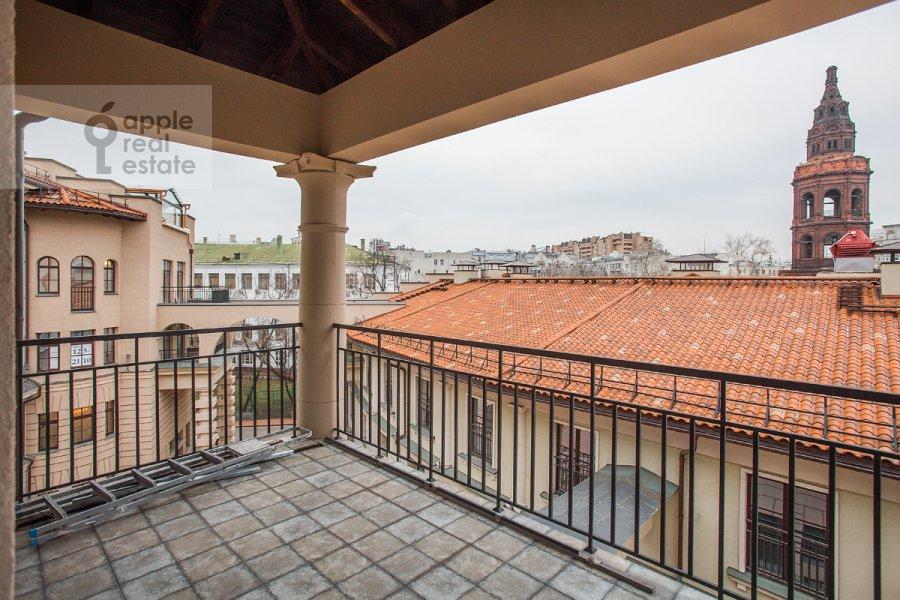 Balcony / Terrace / Loggia of the 4-room apartment at Fadeeva ul. 4A