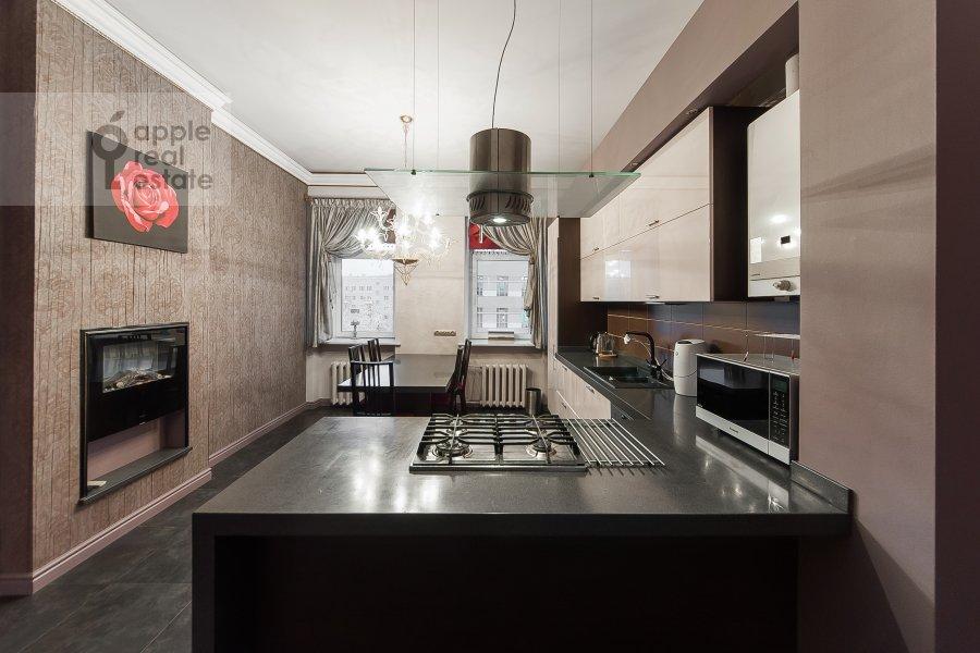 Кухня в 4-комнатной квартире по адресу Покровка 42с6