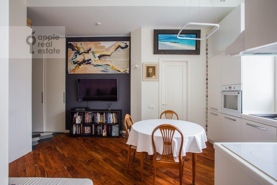 Гостиная в 1-комнатной квартире по адресу Красина пер. 16с1 16с1