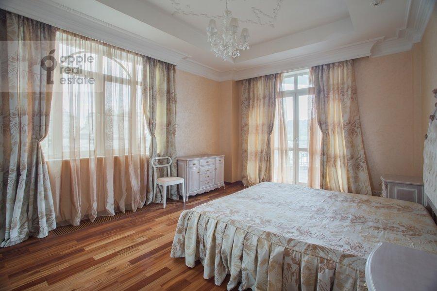 Living room of the 3-room apartment at Beregovaya ul. 4k1