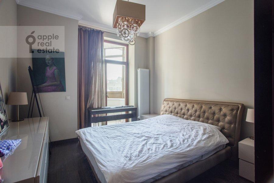 Спальня в 3-комнатной квартире по адресу Мичуринский пр-т. 3