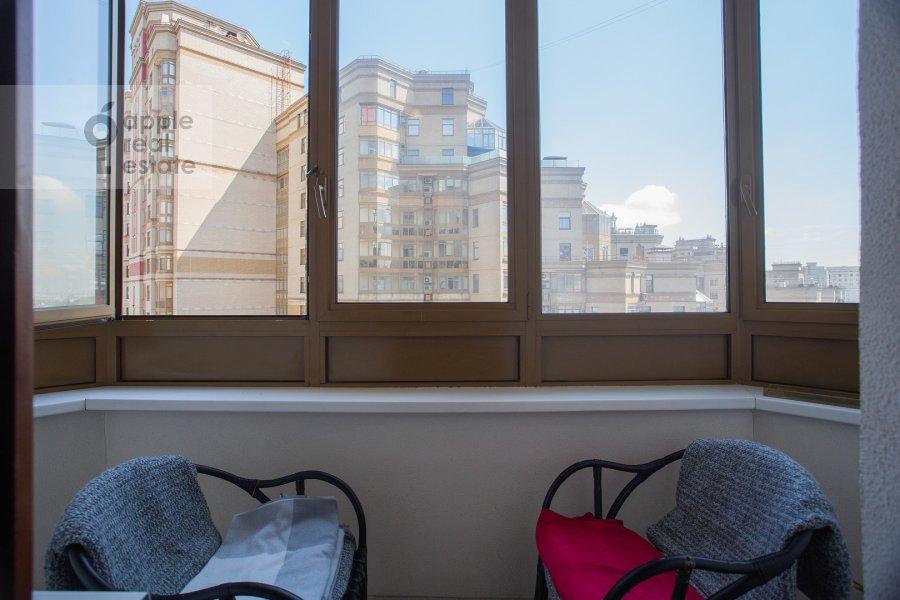 Балкон / Терраса / Лоджия в 3-комнатной квартире по адресу Мичуринский пр-т. 3