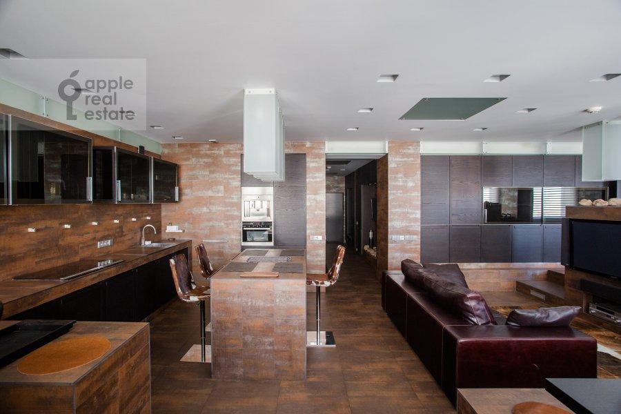 Кухня в 3-комнатной квартире по адресу Нахимовский пр-т. 56