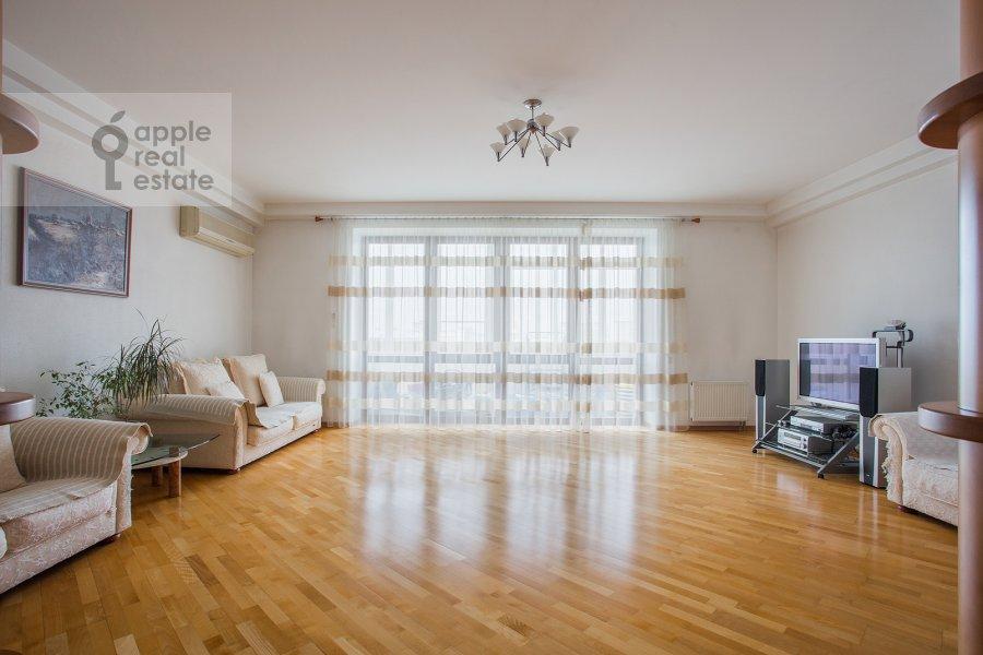 Гостиная в 3-комнатной квартире по адресу Грохольский пер. 28