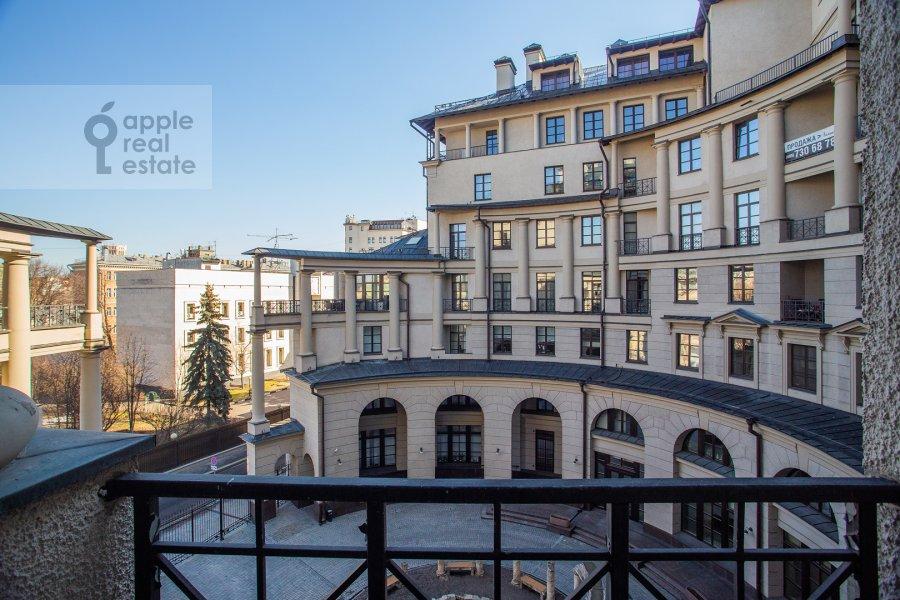 Балкон / Терраса / Лоджия в 3-комнатной квартире по адресу Казачий 2-й пер. 4 с 1