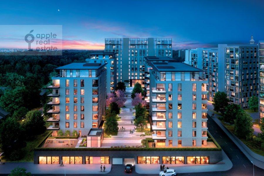 Фото дома 4-комнатной квартиры по адресу Мосфильмовская ул. 1