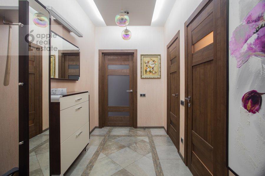 Corridor of the 3-room apartment at Pogorel'skiy per. 6