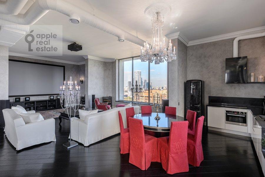 Гостиная в 5-комнатной квартире по адресу Мичуринский пр-т. 6к2