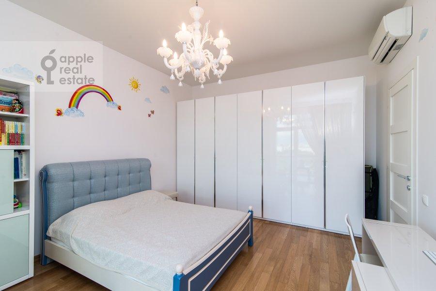 Bedroom of the 2-room apartment at Davydkovskaya ul. 18