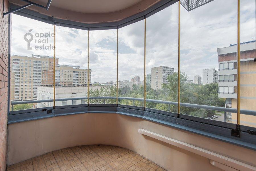 Балкон / Терраса / Лоджия в 4-комнатной квартире по адресу Ленинский проспект 128
