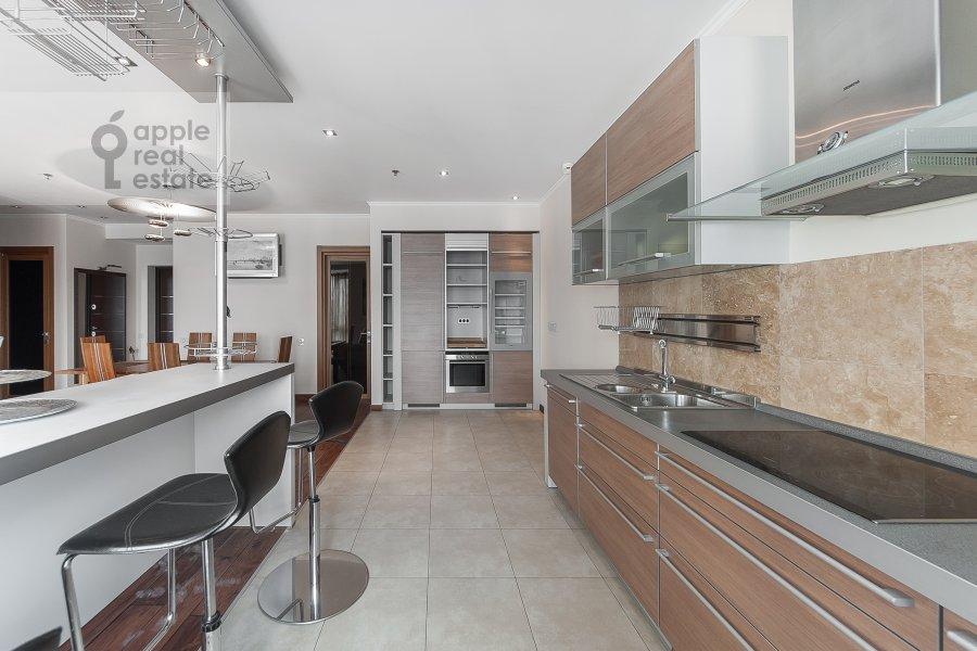 Kitchen of the 3-room apartment at Khoroshevskoe shosse 16k2