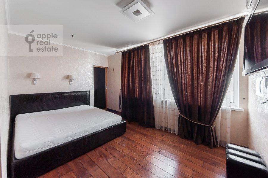 Bedroom of the 3-room apartment at Khoroshevskoe shosse 16k2