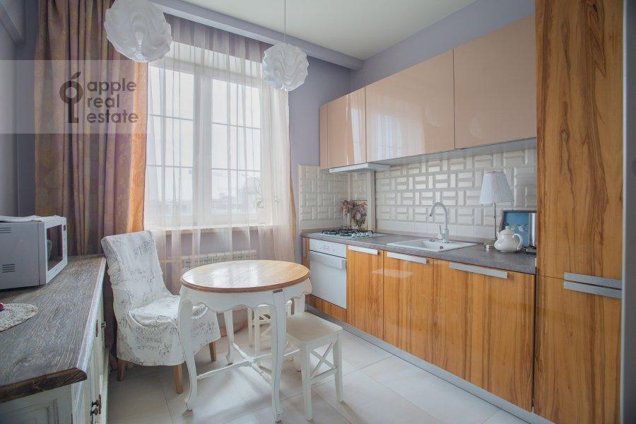 Kitchen of the 2-room apartment at Smolenskiy bul'var 1/2