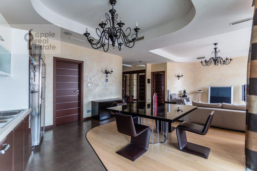 Kitchen of the 2-room apartment at Bol'shaya Yakimanka 22K3
