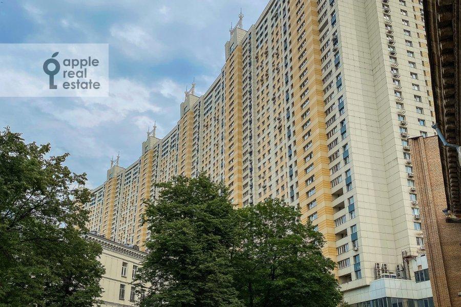 Photo of the house of the 3-room apartment at Khoroshevskoe shosse 12k1