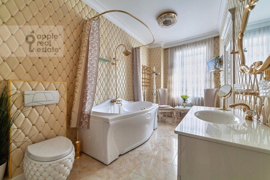 Санузел в 3-комнатной квартире по адресу проспект Вернадского 92к1