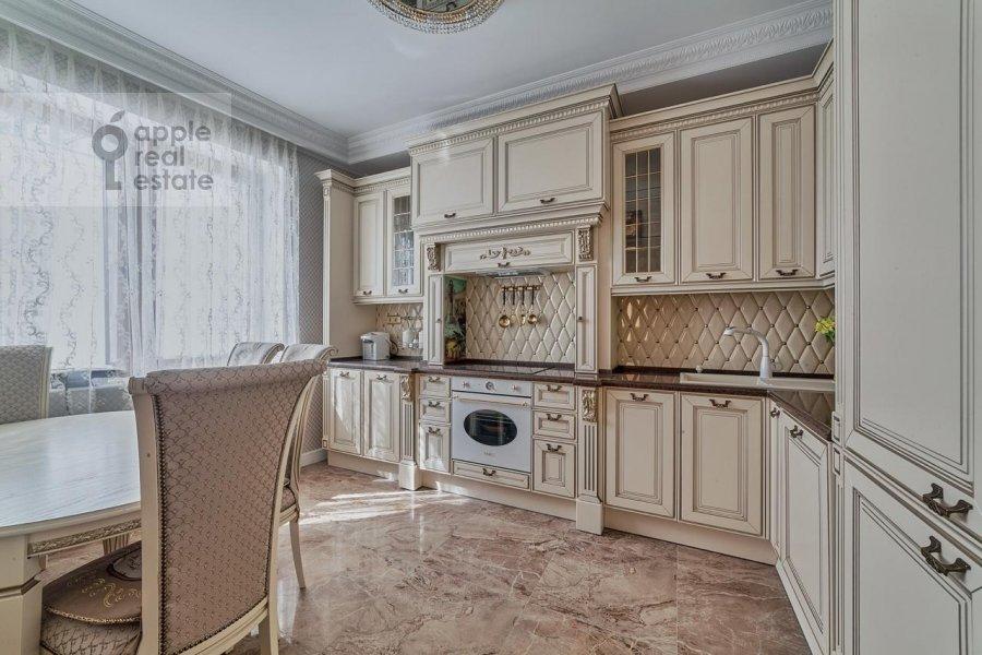 Кухня в 3-комнатной квартире по адресу проспект Вернадского 92к1