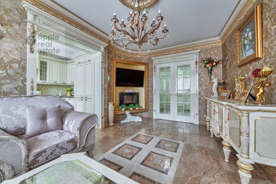 Спальня в 3-комнатной квартире по адресу проспект Вернадского 92к1