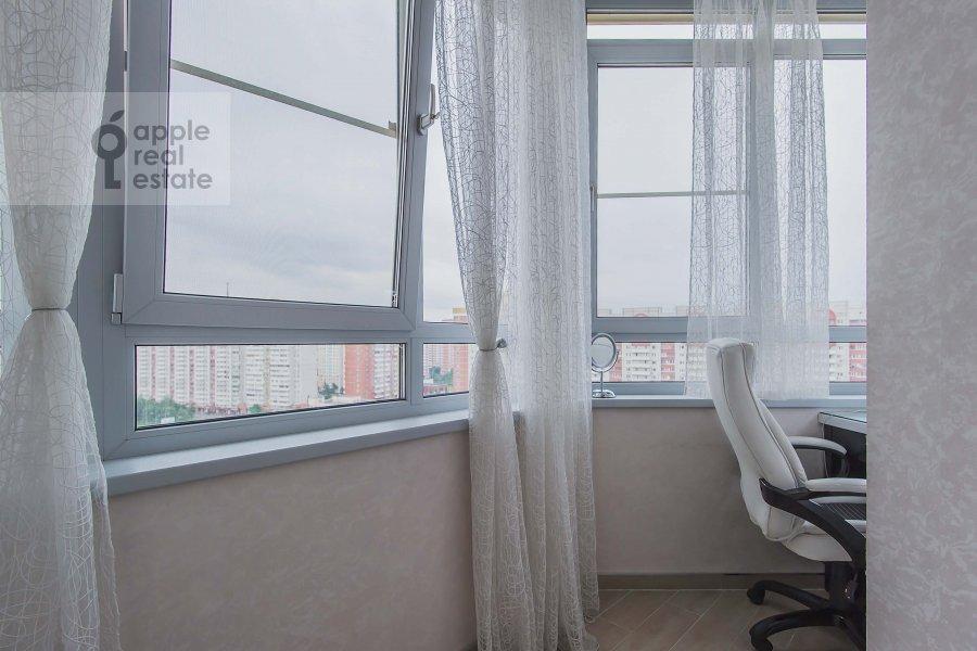 Балкон / Терраса / Лоджия в 4-комнатной квартире по адресу Мичуринский пр-т. 26