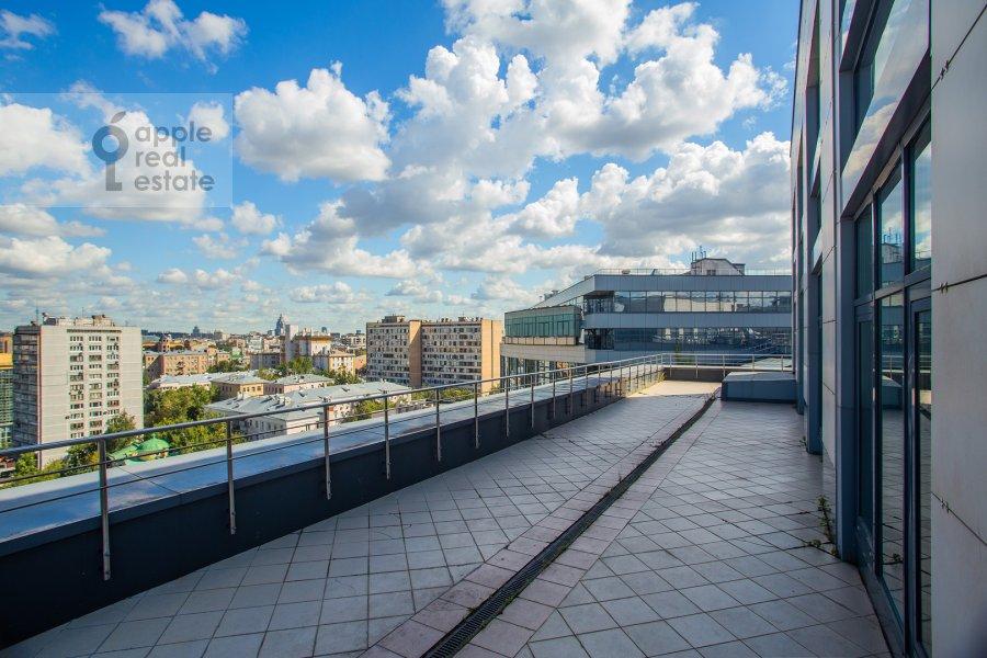 Balcony / Terrace / Loggia of the 4-room apartment at Novyy Arbat 32