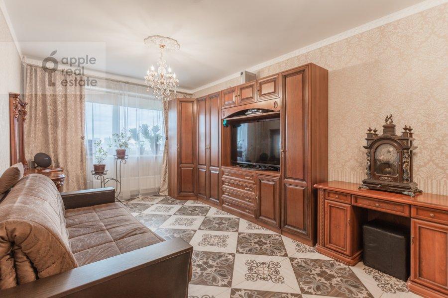 Living room of the 2-room apartment at Narodnogo Opolcheniya ul. 11