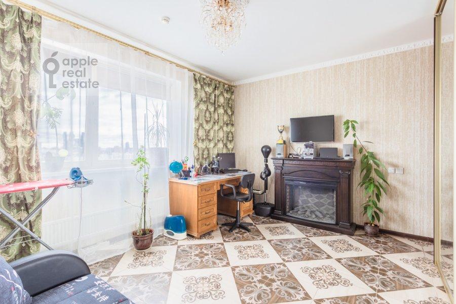 Bedroom of the 2-room apartment at Narodnogo Opolcheniya ul. 11