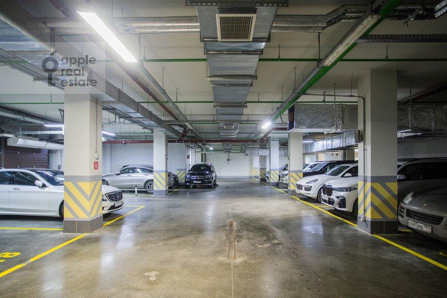 Подземный паркинг 2-комнатной квартиры по адресу Улофа Пальме ул. 7