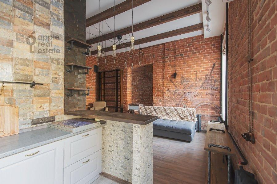 Kitchen of the 2-room apartment at B. Kozikhinskiy per. 17s1