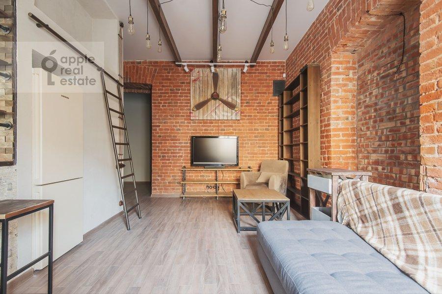 Спальня в 2-комнатной квартире по адресу Б. Козихинский пер. 17с1