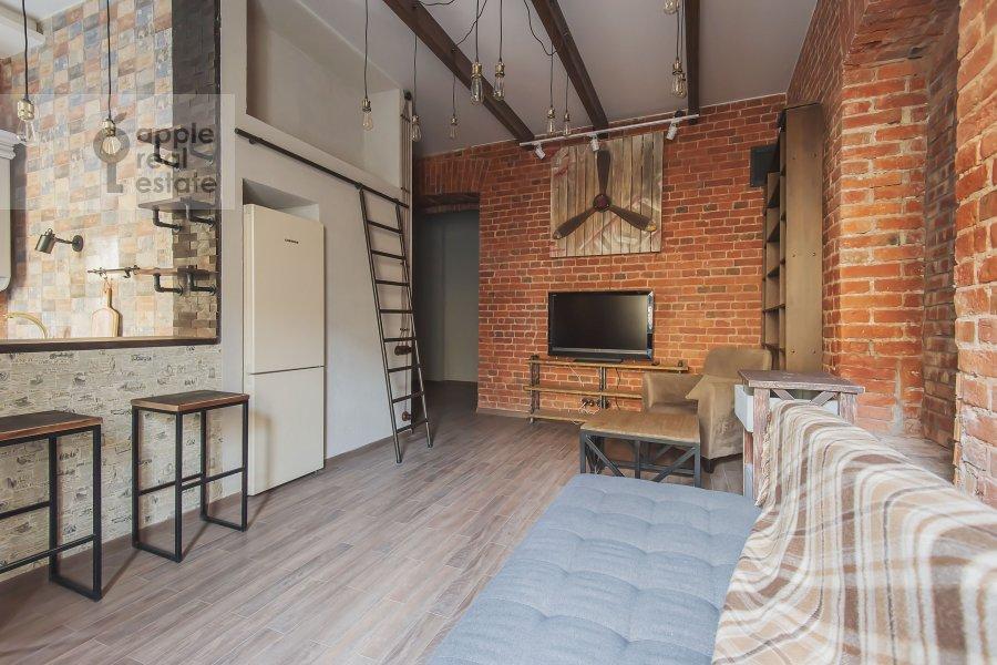 Bedroom of the 2-room apartment at B. Kozikhinskiy per. 17s1
