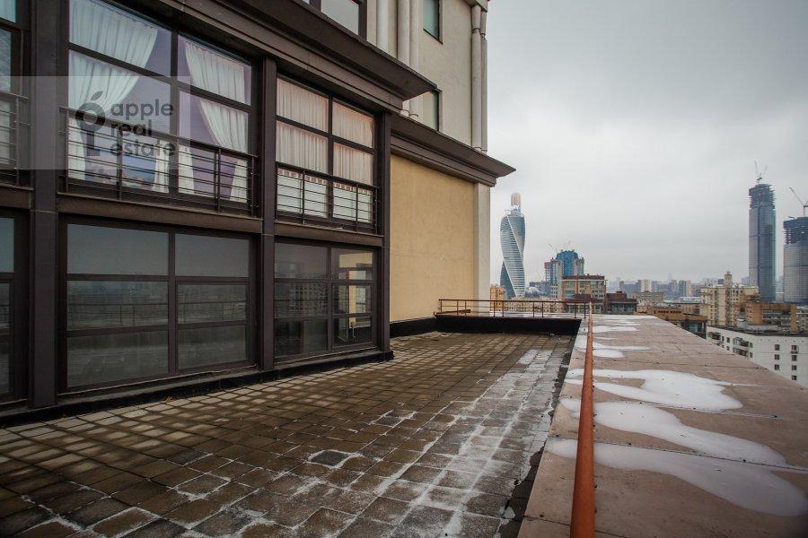Балкон / Терраса / Лоджия в квартире-студии по адресу Резервный проезд 4