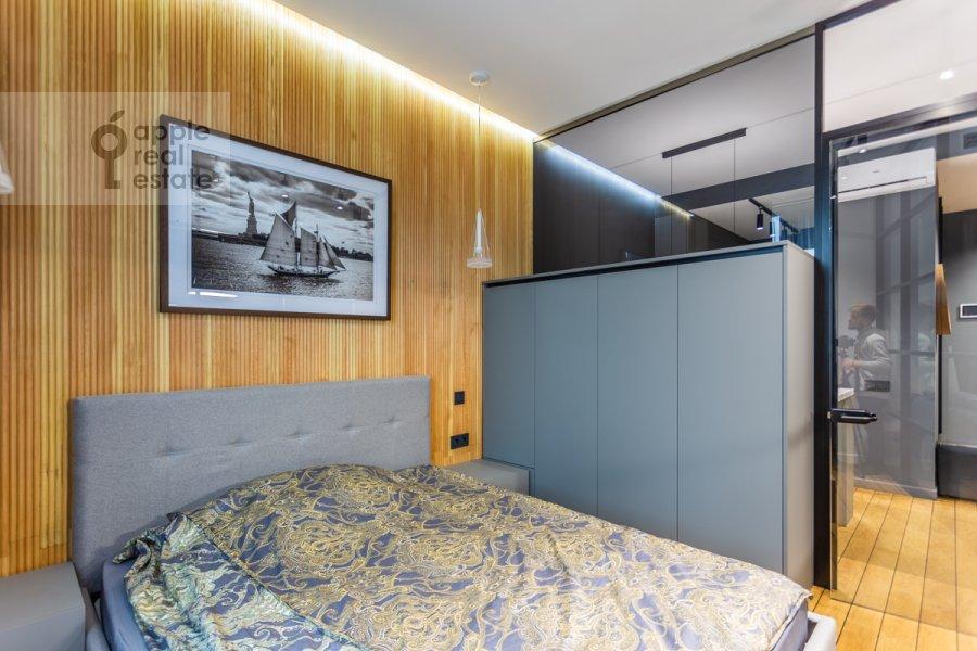 Спальня в 1-комнатной квартире по адресу Воробьевское шоссе 4А