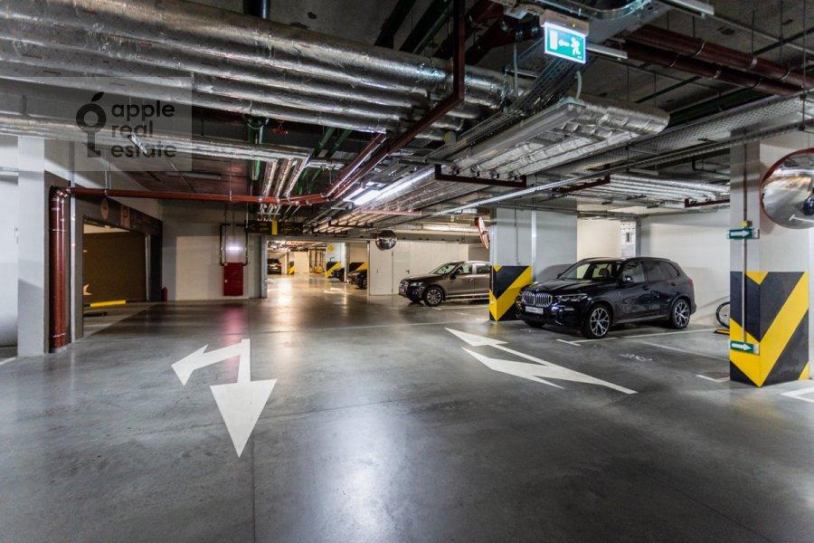Подземный паркинг 1-комнатной квартиры по адресу Воробьевское шоссе 4А