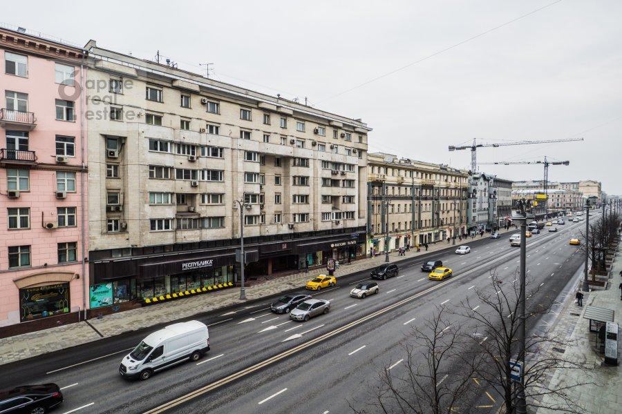 Вид из окна в 4-комнатной квартире по адресу Тверская-Ямская 1-я ул. 9